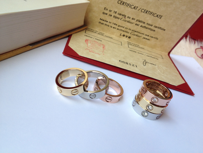 Best Cartier LOVE ring replica